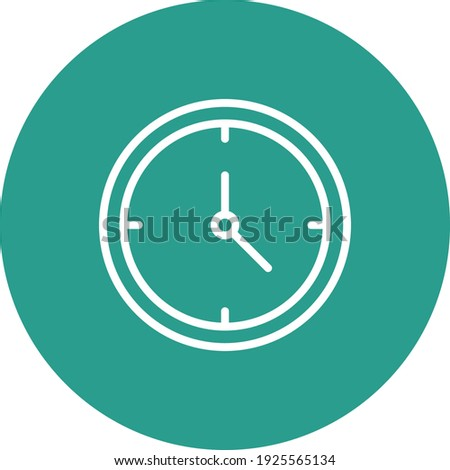 Clock, time, timing icon vector image. Can also be used for customer support and UI. Suitable for use on web apps, mobile apps and print media. Photo stock ©