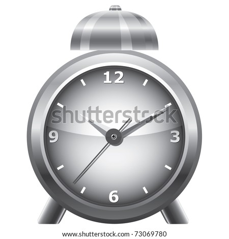 Clock. Vector illustration.