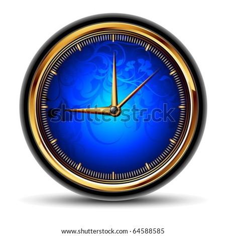 clocks detailed illustration