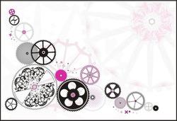 clockwork gear-wheels,