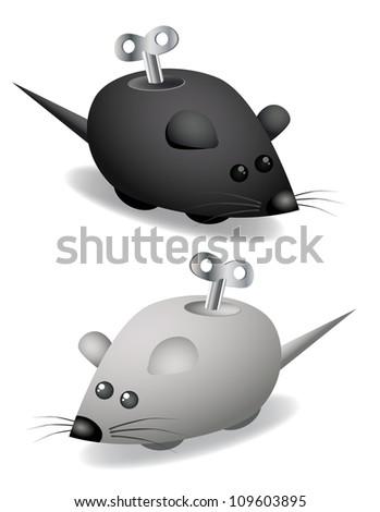 Clockwork mouse set