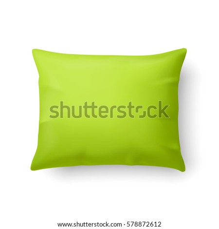 close up of a classic pillow in
