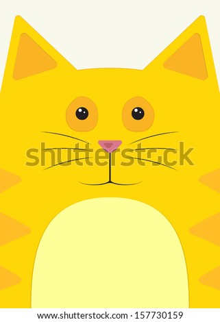 close up of the muzzle red cat