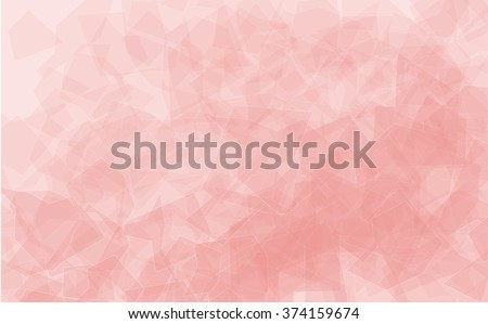Close up of the surface of rose quartz. trendy fashion color of the year 2016. Abstract vector nature background