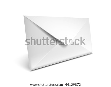 Closed envelope vector icon - EPS 10