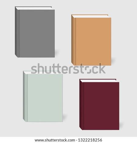 closed hardcover book set