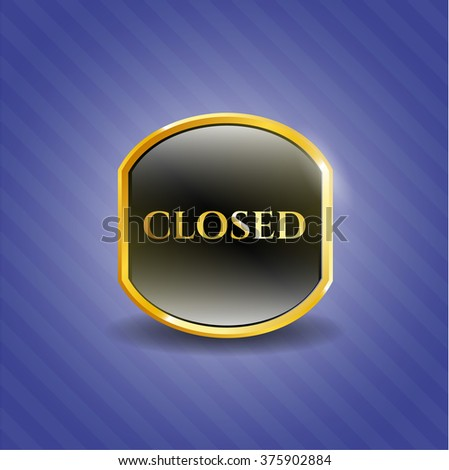 Closed shiny emblem