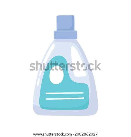 cloth softener laundry icon cartoon Foto stock ©