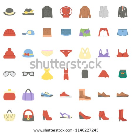 Clothes flat icon