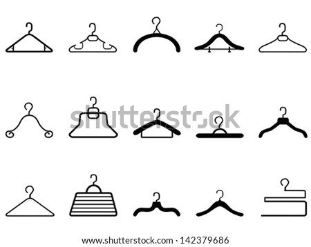 clothes hangers icon