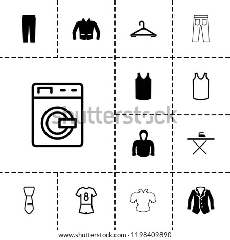 clothes icon collection of 13