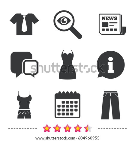 clothes icons t shirt with