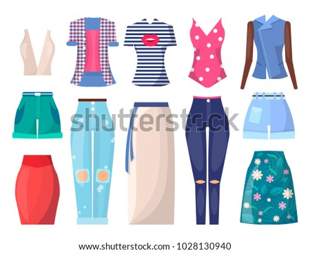 clothing collection summer mode