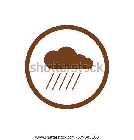 cloud  and  rain  isolated