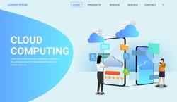 cloud computing banner for website