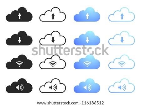 Cloud Computing Icons - Set 2