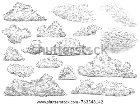 cloud illustration  drawing ...