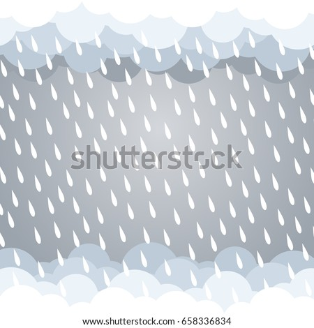 cloud rain background gray