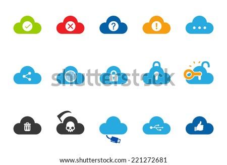 cloud service icons