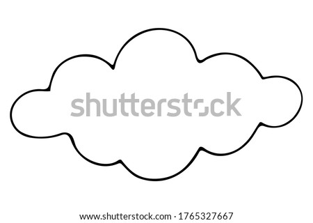 cloud vector illustration