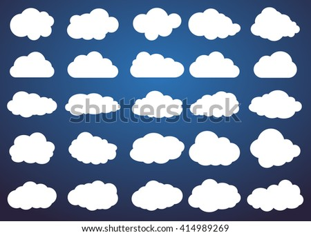 clouds cloud vector cloud