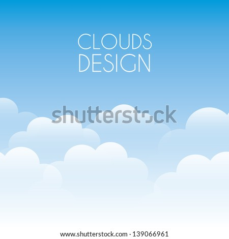 clouds design over sky