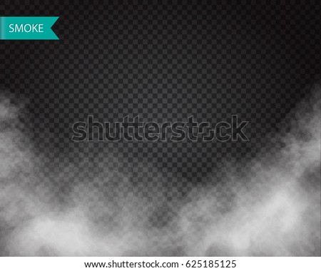 clouds or smoke vector on