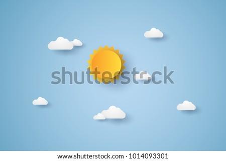 cloudscape   blue sky with