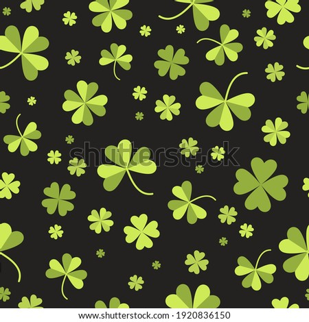 clover leaf seamless vector