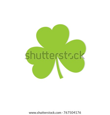 Stock Photo Clover lucky leaf