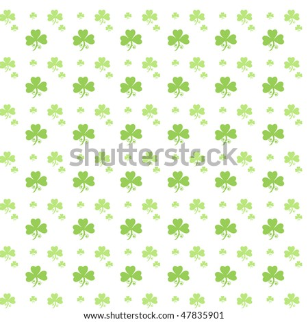 Clover Pattern - stock vector