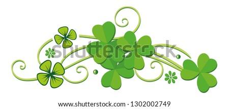 Clover St. Patricks Day Green Shamrocks Irish Day