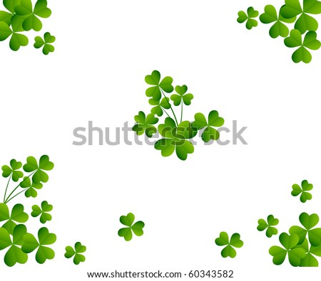 Clover vector illustration