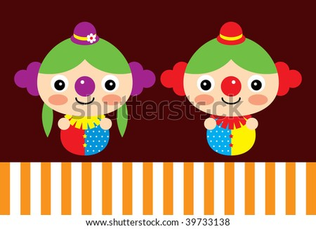 clown couple