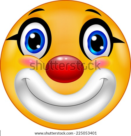 clown emoticon smiley
