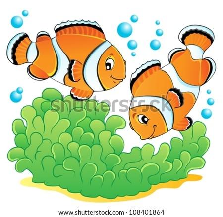 clown fish theme image 1