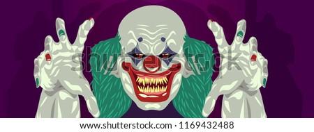 clown halloween costume design