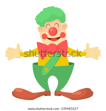 clown icon cartoon