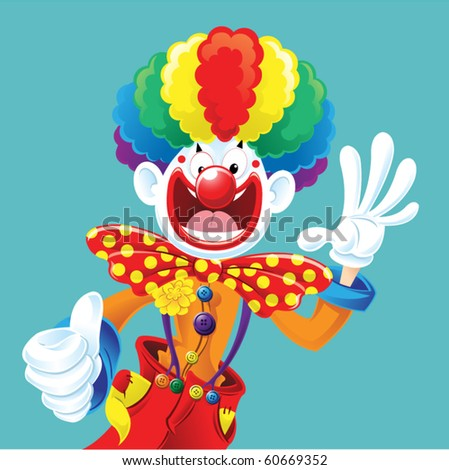 Clown Thumbs Up
