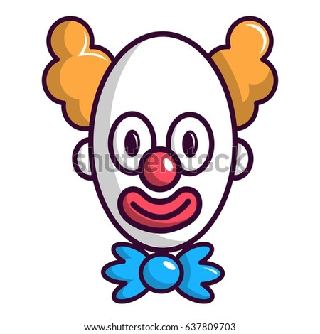 clown with big eye icon