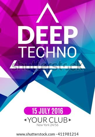 club electronic deep techno