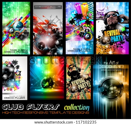club flyers ultimate collection