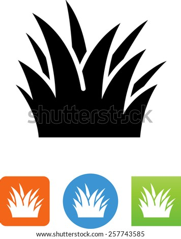 clump of grass icon