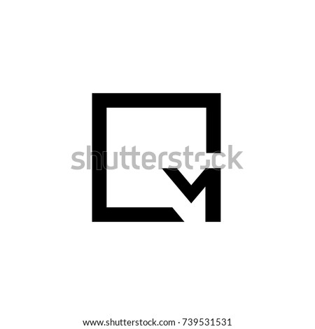 cm letter logo Zdjęcia stock ©