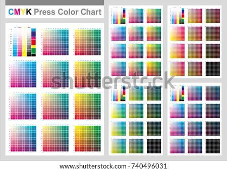 CMYK Chart - Download Free Vector Art, Stock Graphics & Images