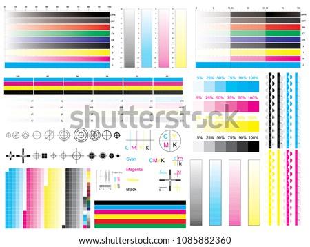 CMYK Chart - Download Free Vectors, Clipart Graphics