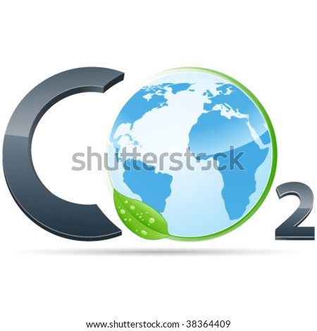 co2 symbol - pollution