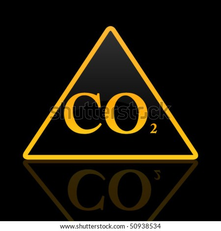co2 traffic sign