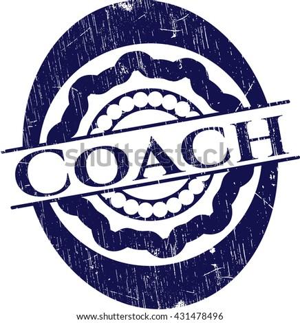 Coach rubber seal