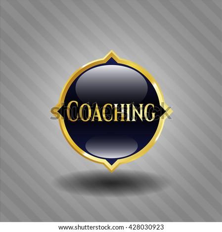 Coaching golden emblem